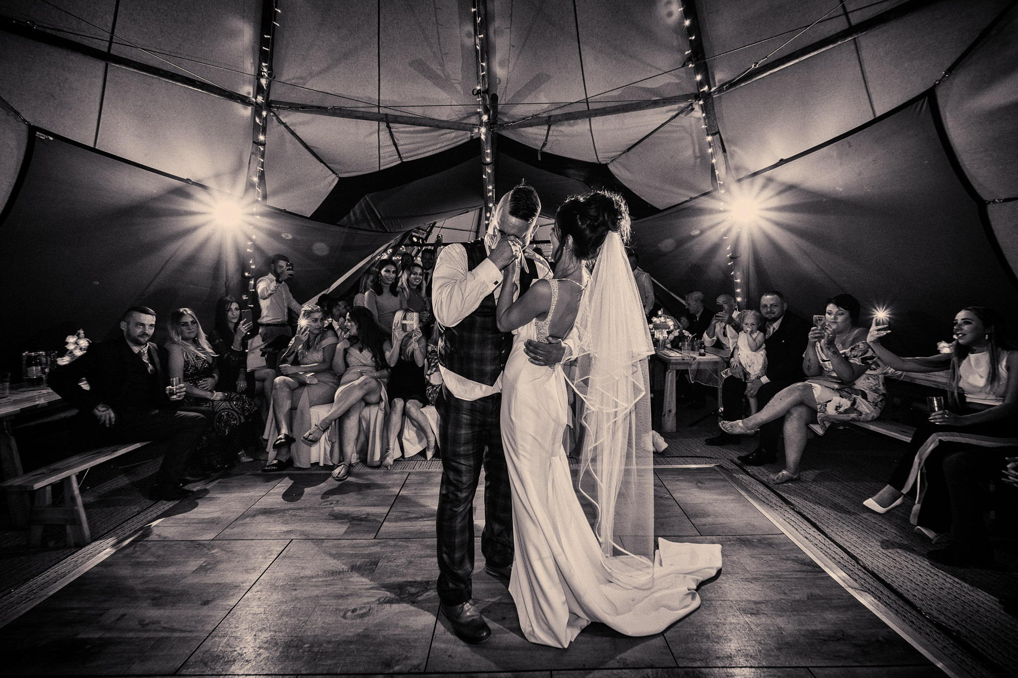 Lancashire Tipi wedding photography