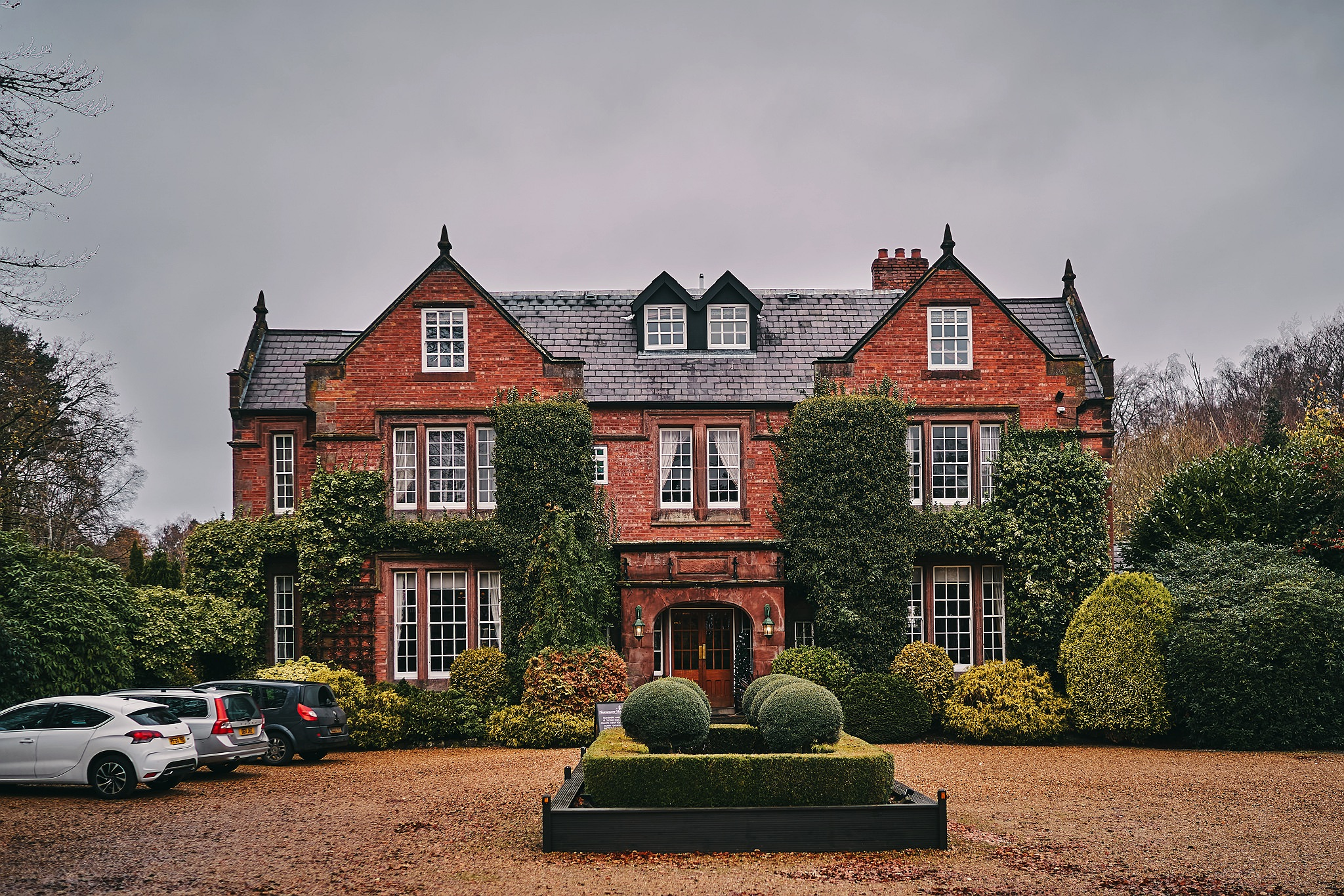 The impressive Nunsmere Hall Hotel