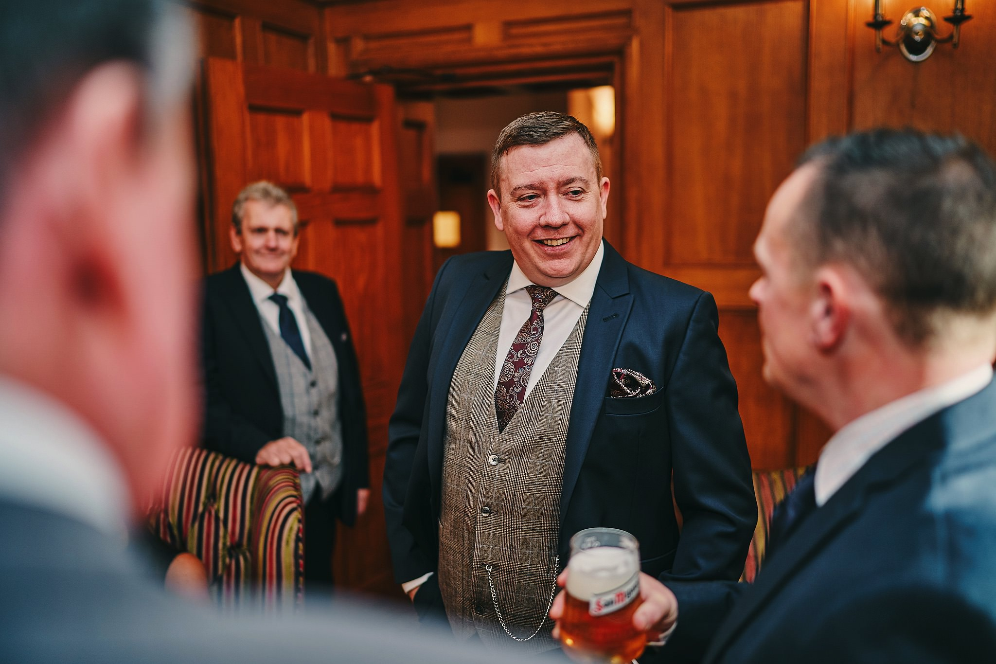 Groom in the Bar at Nunsmere Hall