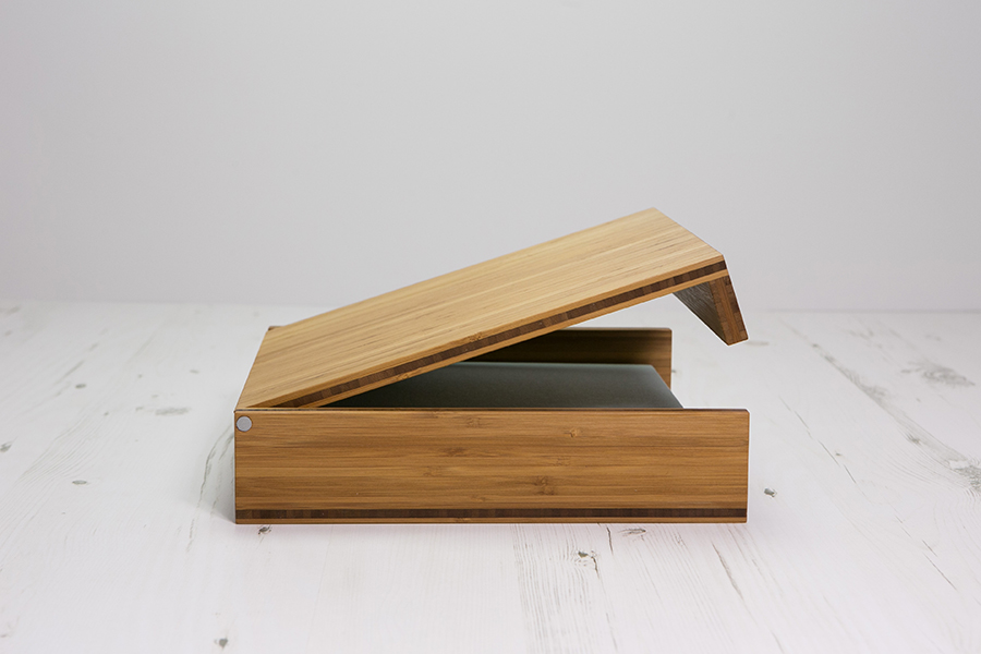 Bamboo box for Fine Art Album